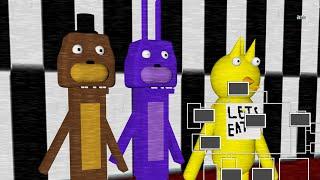 Five Nights at Freddy's Para Pobres (FNAF Game)