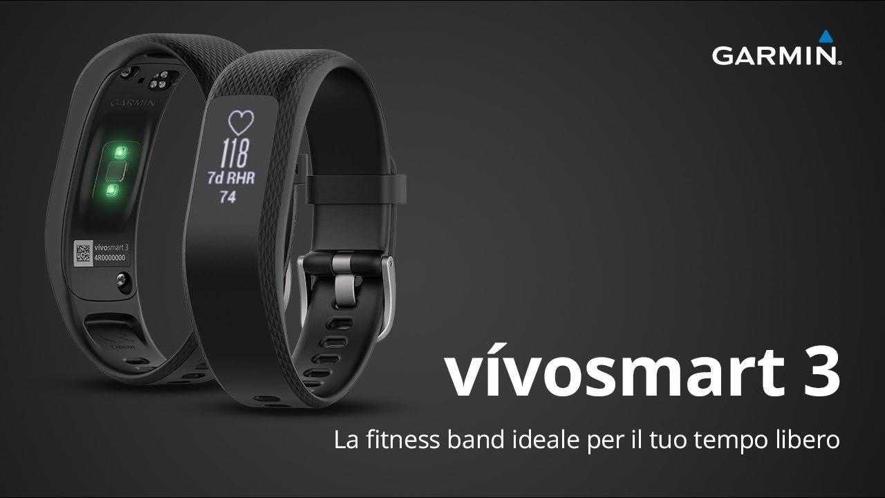 7d1084f219c87e vívosmart 3 | Garmin | Rilevatore fitness