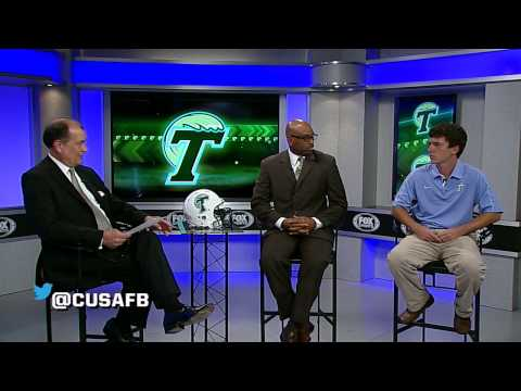 Tulane at 2013 C-USA Football Media Day