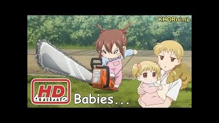 CUTEST BABIES IN ANIME EVER | Funny & Cute Compilation | 最も可愛いアニメシーン集