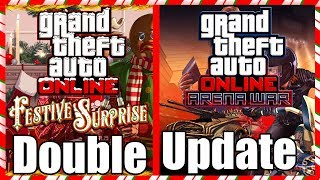 🔴 *NEW* GTA 5 ONLINE FESTIVE DLC UPDATE & ARENA WAR DRIP FEED CONTENT & GIVEAWAY