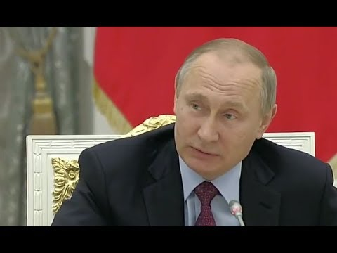 Putin's lessons in success - Just do it!