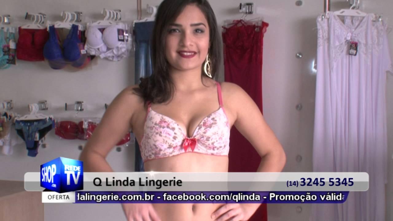 LOJA DE LINGERIE EM BAURU - Q LINDA LINGERIE - S 32 - YouTube 175c1c281e3
