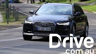 Audi A6 Allroad Road Test | Drive.com.au(The Australian family wagon is a dying breed, having been replaced in so many garages by the SUV. Read more: ..., 2015-11-25T21:56:28.000Z)