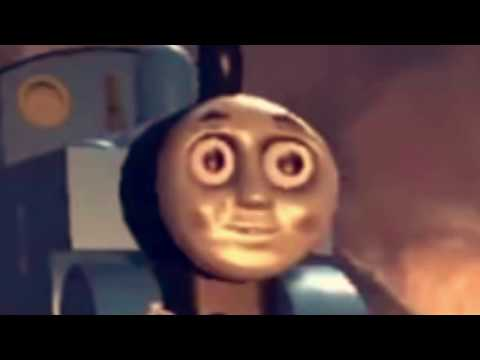 Thomas the Tank Engine but you slowly sink deeper into hell