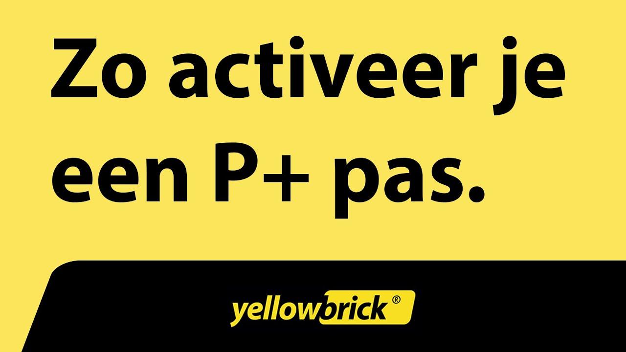Yellowbrick Zo Activeer Je Een P Pas Youtube