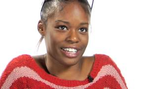 Rapper azealia banks reveals her true feelings about acrylic nails and french manicures.http://vk.com/azealiabanksdaily