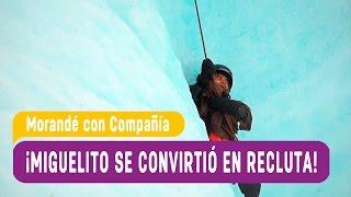 Miguelito de trasformó en recluta - Morandé con Compañía 2016