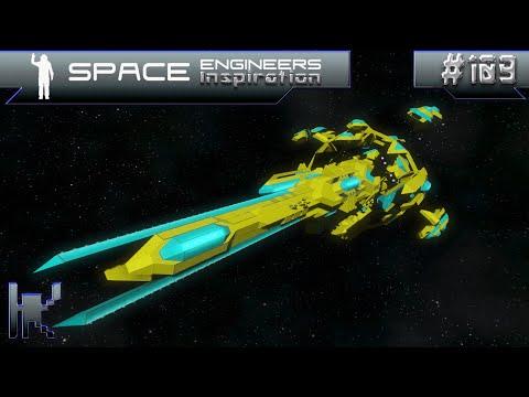 Space Engineers Inspiration - Episode 109: Mercury Aircraft, Magnus Capital Ship, Brionic Satellite
