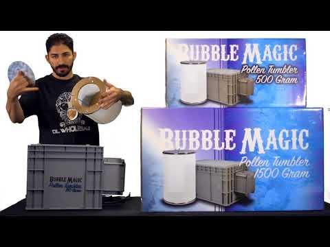 Replacement Screen for Bubble Magic Pollen Tumbler 1500 gram 125 micron