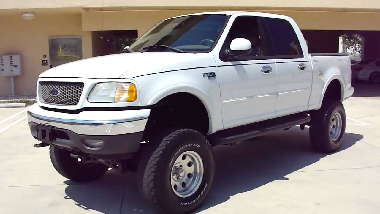 2001 Ford F150 4x4 Lariat Lifted Video 1/3 - YouTube