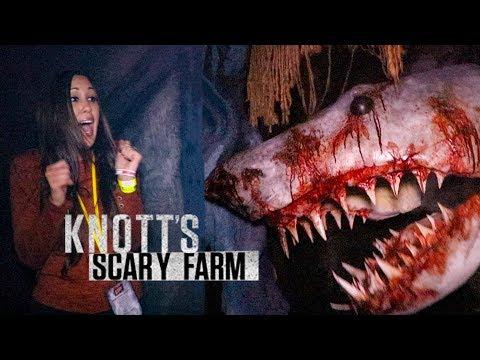 Knotts Scary Farm 2018 ALL 9 Mazes! Haunted House Walkthrough POVs Knotts Berry Farm HD