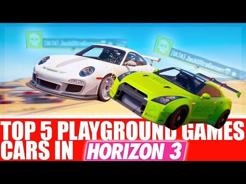 Forza Horizon 3 - Top 5 Playground Games Cars (S2)