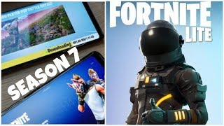 FortNite Lite And FortNite Mobile Season 7 is Here On Android/ios