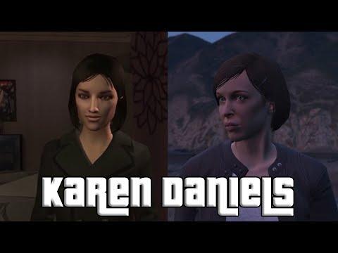 Karen Daniels (Michelle) - GTA IV &  GTA V