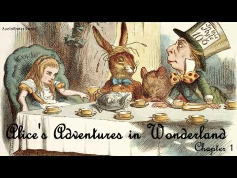 Alice's Adventures in Wonderland by Lewis Carroll (Audiobook)(Human Voice)