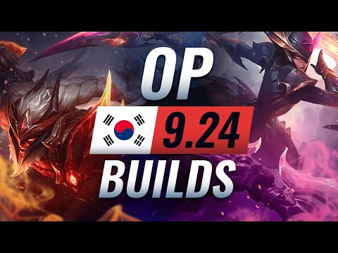14 NEW Korean Builds You MUST TRY in Patch 924 - League of Legends Season 10