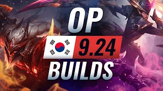14 NEW Korean Builds You MUST TRY in Patch 9.24 - League of Legends Season 10
