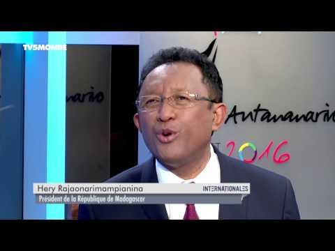 Hery Rajaonarimampianina dans Internationales - Emission du 27 novembre 2016
