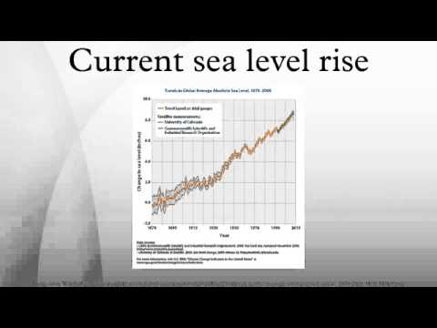 Current sea level rise