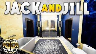 JACK AND JILL BATHROOM : House Flipper Gameplay :  Ep 13