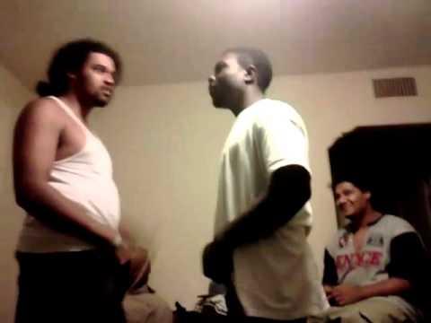 Thug bitch slapped
