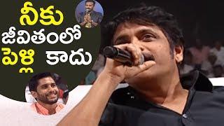 Nagarjuna Hilarious Punch To Anchor Ravi | Rarandoi Veduka Chuddam | TFPC