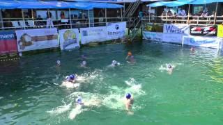 Waterpolo.Bregenz (Austria)Summerstage vs ESSV Eisenach