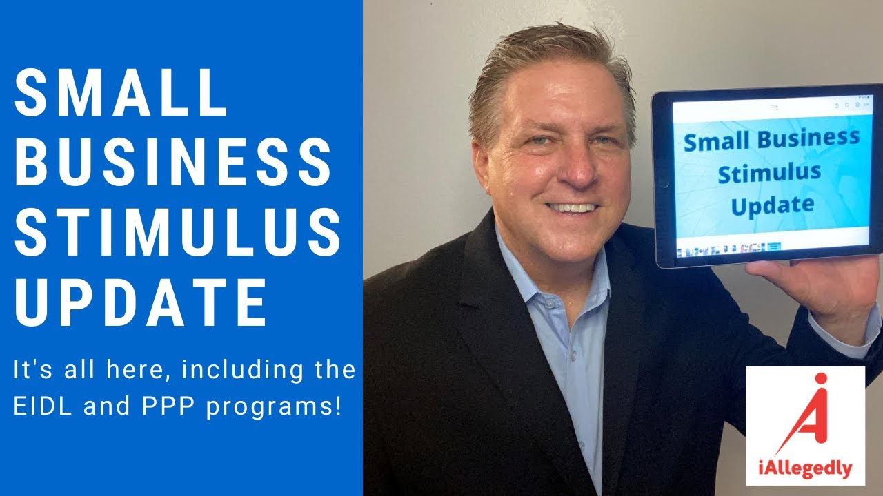 Small Business Stimulus Update. It's all here!