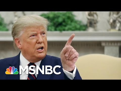 President Donald Trump: The Whistleblower Should Be Protected If They Are 'Legitimate' | MSNBC