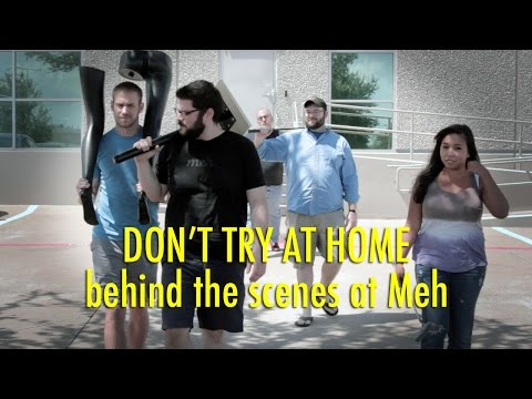 Don't Try At Home: Behind The Scenes At Meh