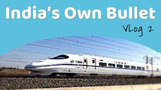India's Own Bullet : Mumbai Ahmedabad bullet train work progress- VLog 2
