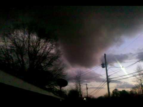 Tornado In 5 Points Huntsville Al 1 21 10 Youtube