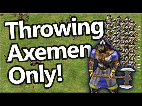 Throwing Axeman ONLY!