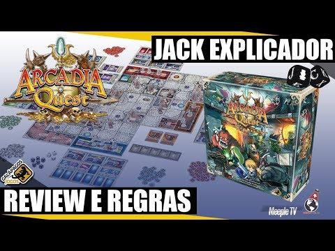 Jack Explicador - Arcadia Quest - Review e Regras