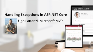 Handling Exceptions in ASP.NET Core, presented by Ugo Lattanzi