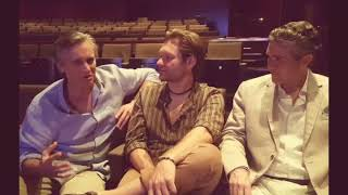 Interview  3 Dads for the  Opening of Mamma Mia at Lyric Theatre