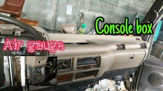 Pagalign Ng Console Box Paglag…