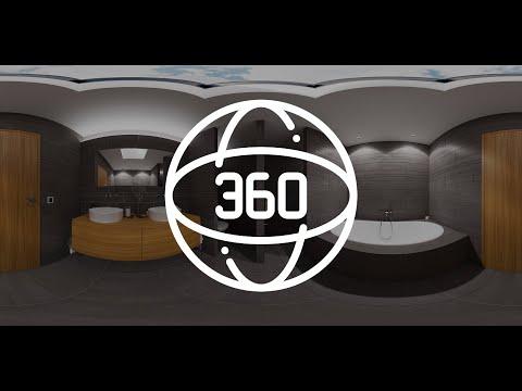 Virtuelle Wohnungsbesichtigung | 4K Panorama | 360° Visualisierungen | Raum besichtigen | Badezimmer
