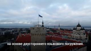 Эстонский опыт языкового погружения для школ и детских садов глазами журналистов из Латвии