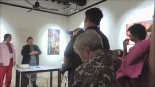 Giammarco Puntelli opens Alexander Kanevsky Exhibition in Pietrasanta