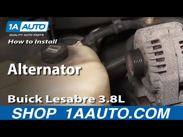 how to replace alternator 00 05 buick lesabre 3 8l 1a auto 1955 buick century alternator wiring