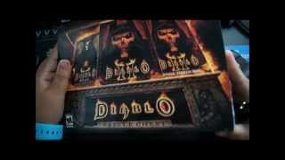 Unboxing of Diablo II Battle Chest