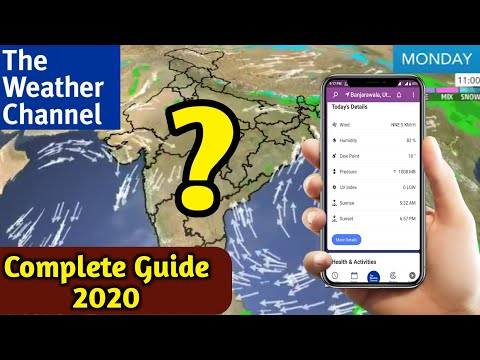 Best Weather App In 2020 | The Weather Channel App Complete Review | Free Weather Apps For Android |