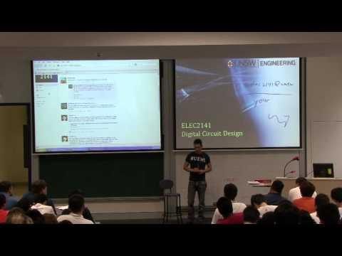 ELEC2141 Digital Circuit Design - Lecture 1