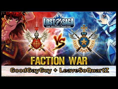"Lost Saga | Team Faction "" การเล่นทีมสุดเกรี๊ยน มั้ง ! """