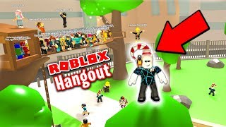 MY ROBLOX HANGOUT NOW HAS 100 PLAYER SERVERS!!!