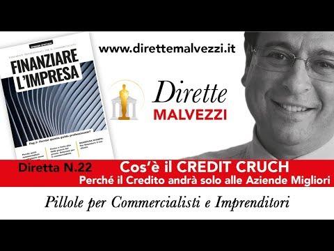 Diretta 22 - Cos'è il CREDIT CRUNCH (Perché il Credito andrà solo alle Aziende Migliori)