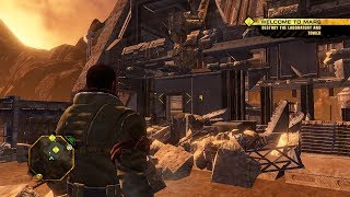 Most Cool Destruction in Games ! Open World Game on PC Red Faction Guerrilla