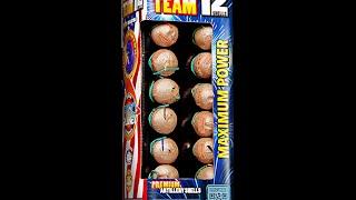 Phantom Firework Demo: Dream Team Artillery Shell